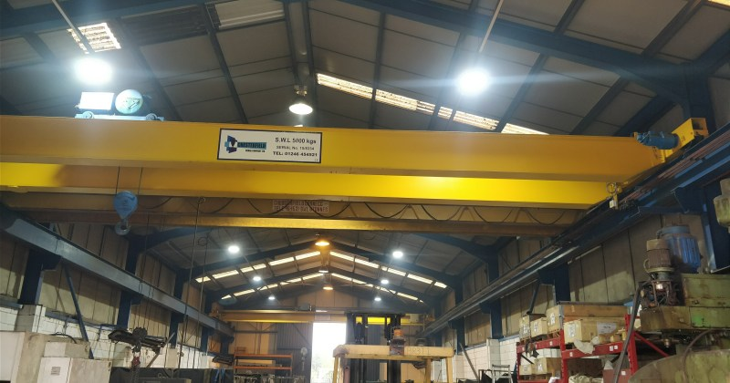 PMS' newly installed LED lighting by Owled