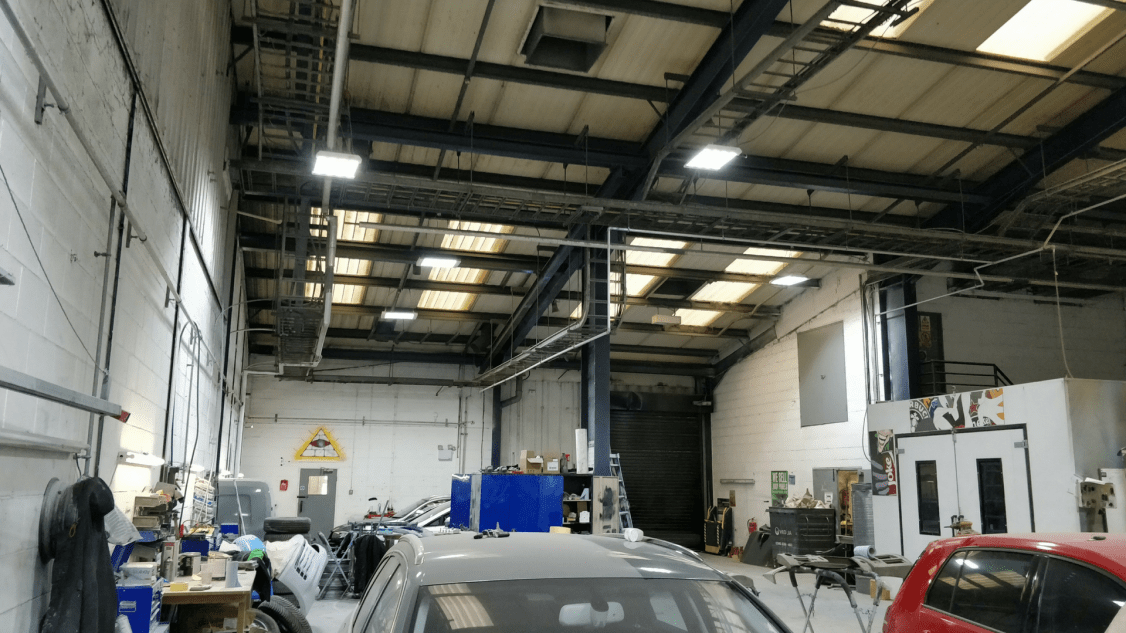Owled's lighting installed into Bodytec's site