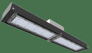 Graphene LED linear bay for industrial lighting