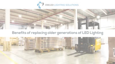 The benefits of refitting with LED lighting