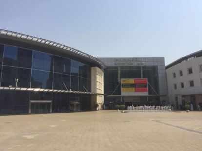 Dubai World Trade Centre, LED industrial lighting trip