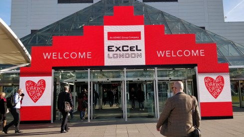 LuxLive Exhibition Entrance for Industrial Lighting