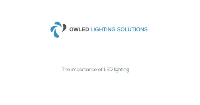 The video shows the benefits of LED lighting in productivity and health and safety