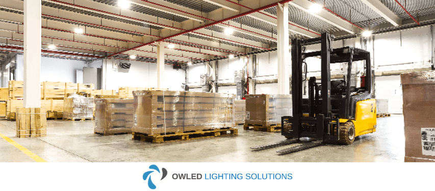 Image of Owled's industrial lighting landing page title