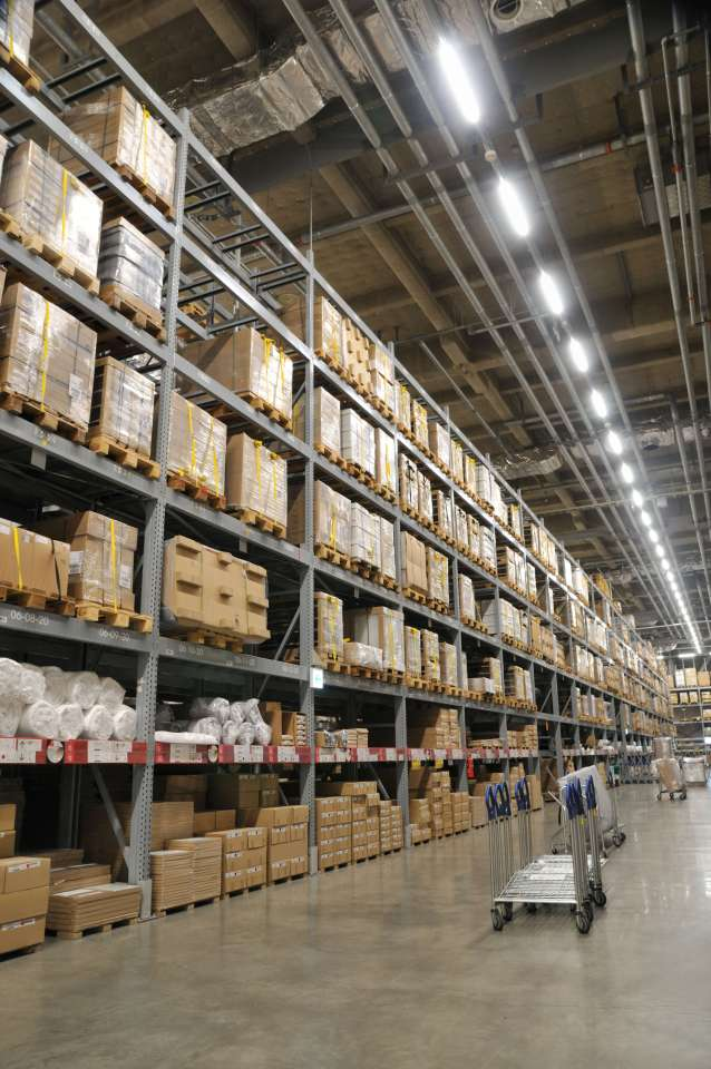 An image of Owled's Warehouse Lighting