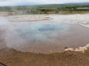 Iceland Strokkur Geyser water