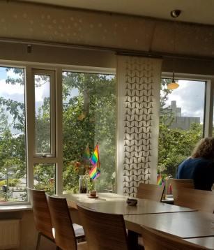 Iceland Reykjavik Cafe Loki Inside