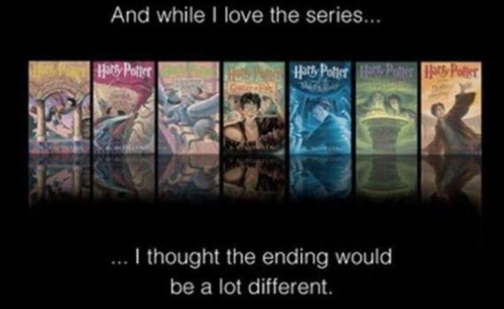 Harry Potter - Alternate ending 1