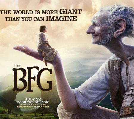 The Big Friendly Giant - movie adaptation 12