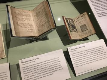 Shakespeare's poetry first editions