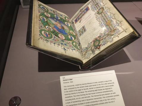 The Iliad by Homer, from 1466