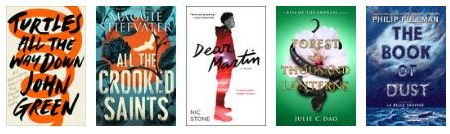 New releases: October 2017 - young adult 3