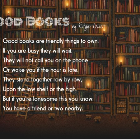 Poetry: Good Books - Edgar Guest 27