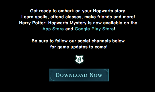 Game: Harry Potter – Hogwarts Mystery is now out! 2