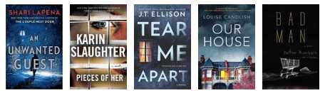 new releases mystery thriller august 2018