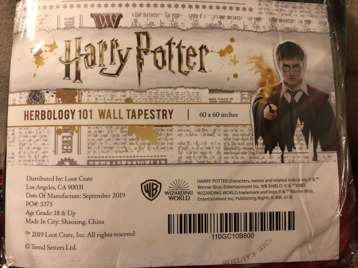Wizarding World Lootcrate - Magical Plants 8