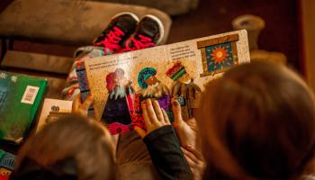 print books reading children