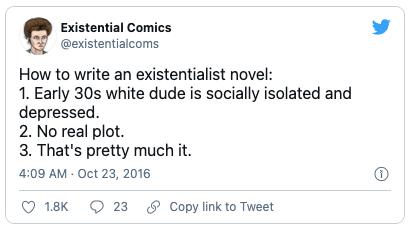 Hilarious bookish tweets 10