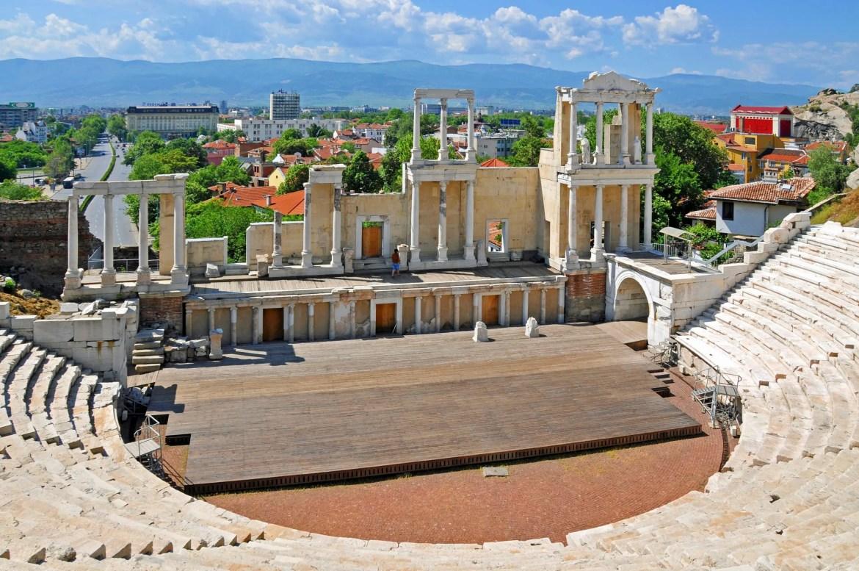 Plovdiv, Bulgaria: Roman Amphiteater