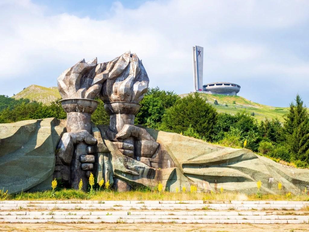 Places to visit in Bulgaria, Buzludzha monument