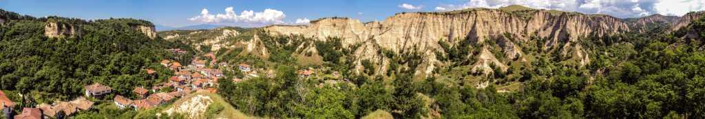 Melnik, the smallest town in Bulgaria