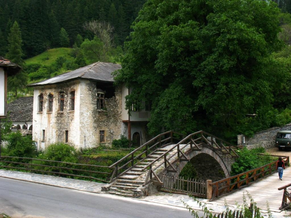 Shiroka Laka village in the Rhodopes Mountains, Bulgaria