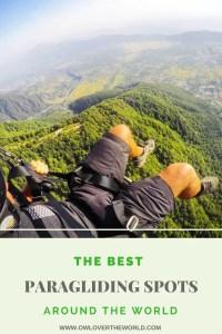 best paragliding spots around the world