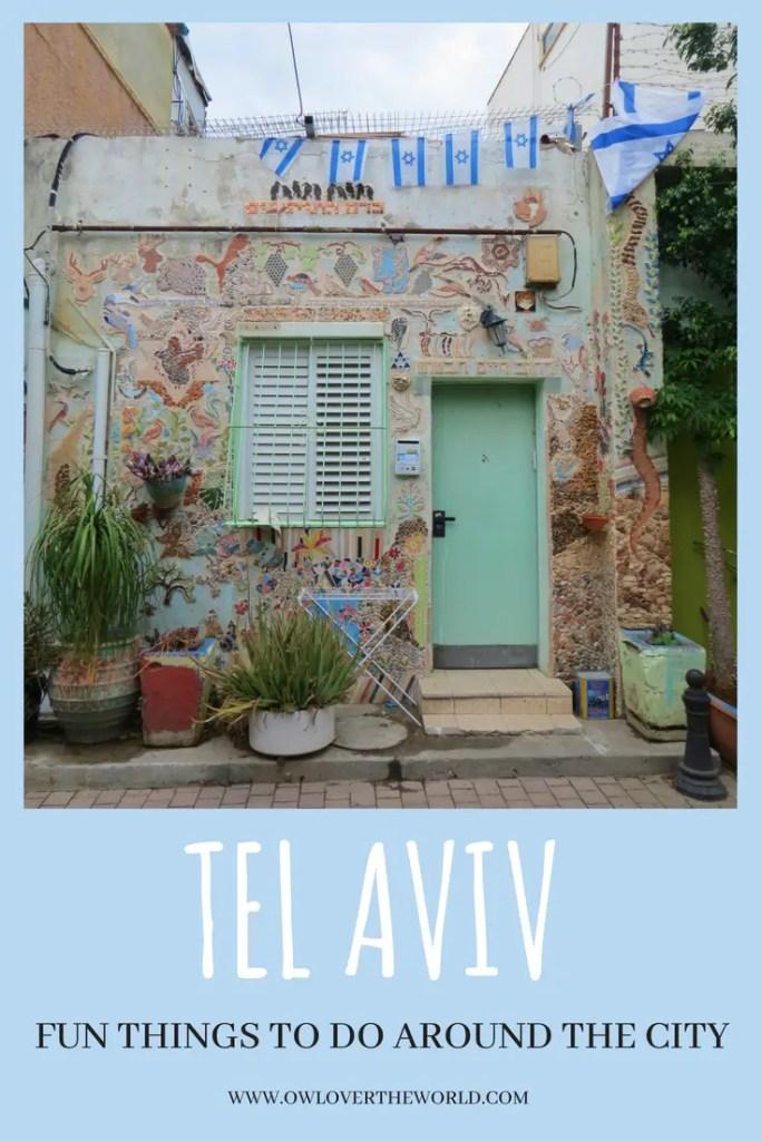 tel aviv fun things to do around the city