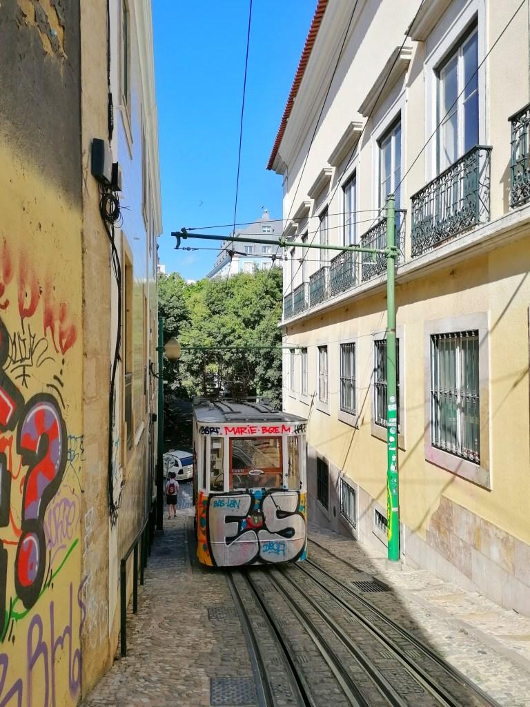 Lisbon famous tram
