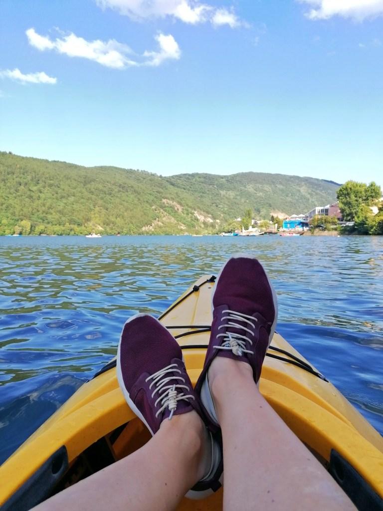 Kayaking with Tropicfeel shoes