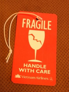 FRAGILE:HANDLE WITH CARE
