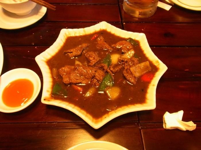 ベトナム:昼食で食べた牛肉