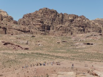 Looking out over the valley, Petra