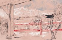 owlstation_wilmington sketch_2016_snowy scene