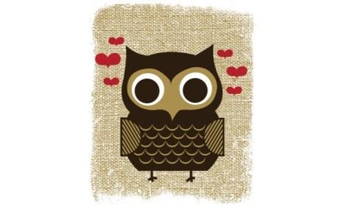 Owl Always Love You Owl Art Serigraph