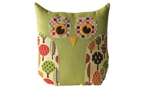 Lola Owl Pillow & Purse Owl Sewing Pattern