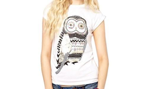 Zehui Owl Shirt Short Sleeve Tee