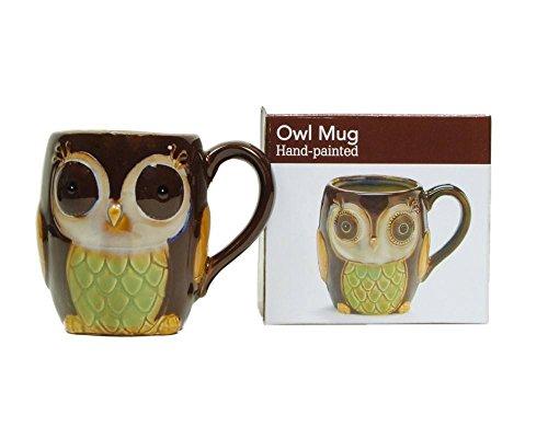 Chocolate Owl 12 Oz Coffee Mug