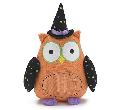 Whooo Goes There 12″ Halloween Owl Plush