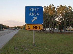 Rest area privatization