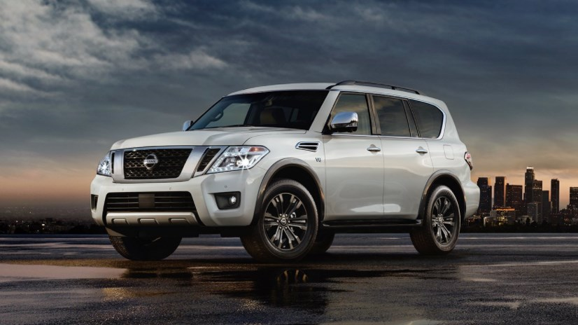 2017 Nissan Armada Concept HD Wallpaper