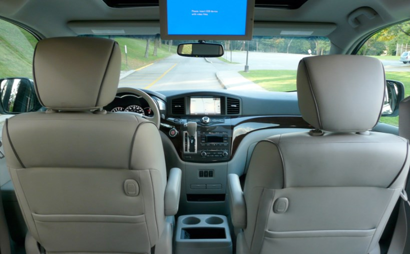 2011 Nissan Quest Interior HD Wallpaper