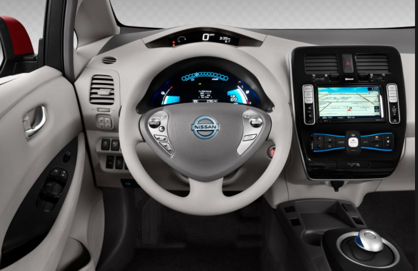 2014 Nissan Leaf Interior HD Wallpaper