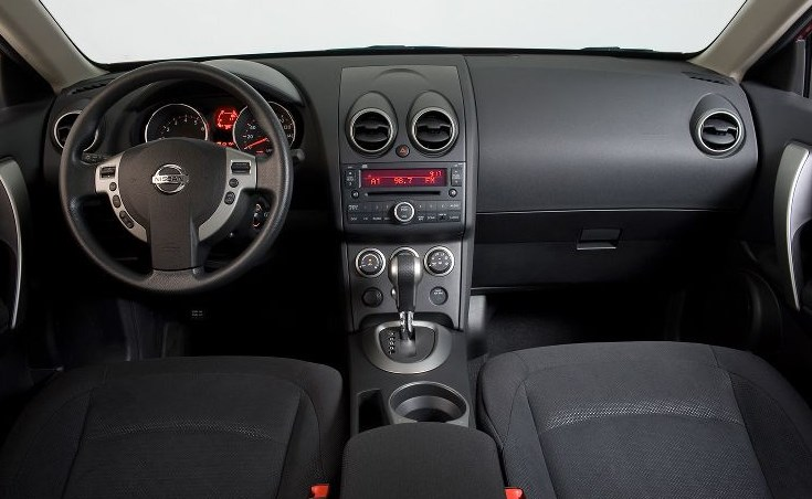 2010 Nissan Rogue Interior HD Wallpaper