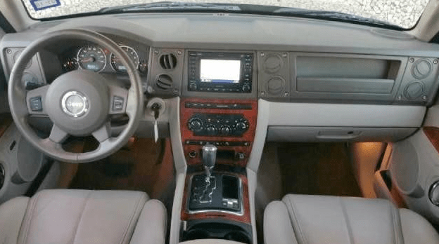 2007 Jeep Commander Interior and Redesign