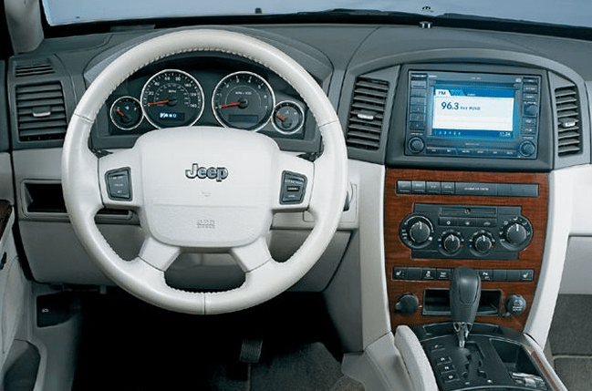 2007 Jeep Grand Cherokee Interior and Redesign