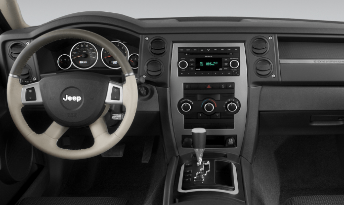 2008 Jeep Commander Interior and Redesign