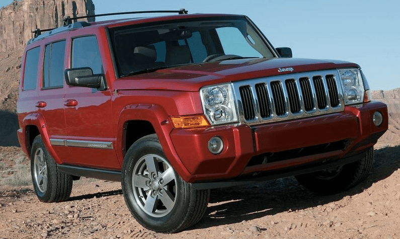 2008 Jeep Commander Owners Manual and COncept