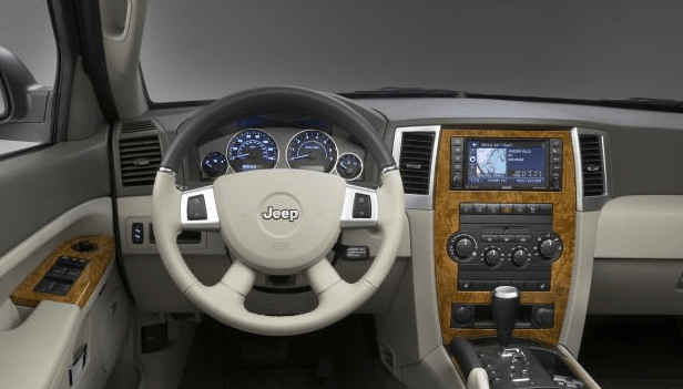2009 Jeep Grand Cherokee Interior and Redesign