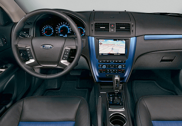 2010 Ford Fusion Interior and Redesign